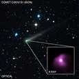Photo of Comet ISON